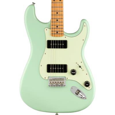 Fender Noventa Stratocaster Maple Fingerboard Surf Green Electric Guitar