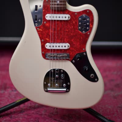 Fender Japan Jaguar JG66 CIJ O Serial 1997 Olympic white