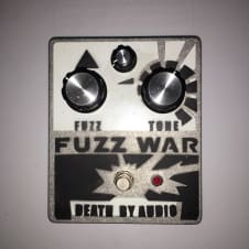 Death By Audio Fuzz War (signed by John Dwyer of THEE OH SEES)
