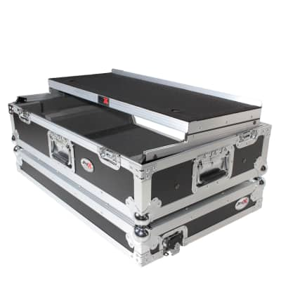 Prox ATA Road Case FOR Pioneer DDJSX3 DDJ1000 Controller & Lower 2U Space & Laptop Shelf
