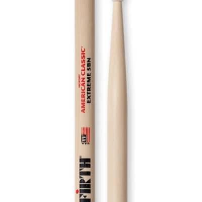 Vic Firth American Classic Series Nylon Tip Drumsticks - Extreme 5B
