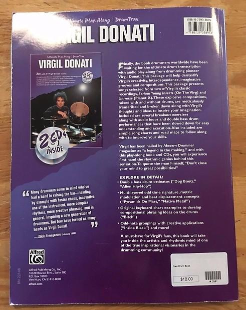 Ultimate Play Along Virgil Donati (w/ CD's)   Klash Drums