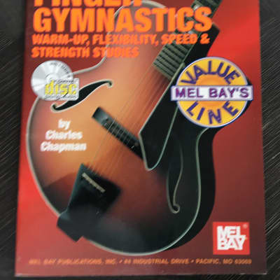 Mel Bay's Finger Gymnastics with CD Speed & Strenght Studies Music Book