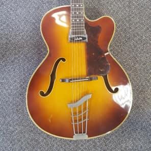 Hofner President 1964 Semi-Acoustic 1964 Brunnete for sale