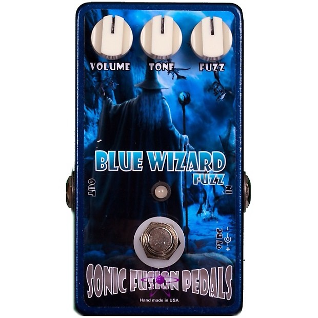 blue wizard fuzz sonic fusion pedals reverb