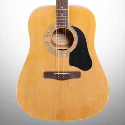 Silvertone SD3000 Acoustic Guitar Package, Natural, Blemished for sale