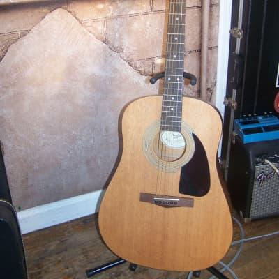 Fender DG-5 Acoustic Guitar, Satin Natural Finish for sale