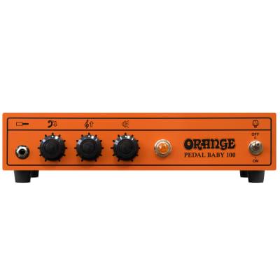 Orange Pedal Baby 100 Class A/B 100-Watt Solid State Power Amplifier