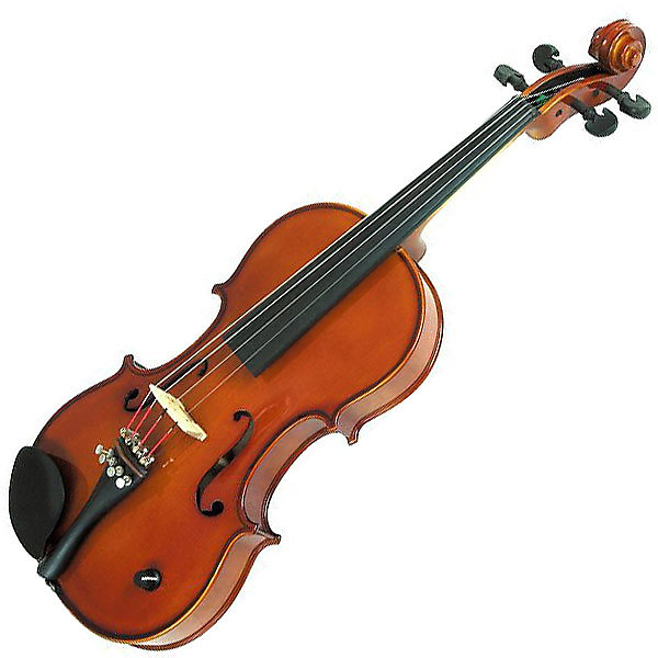 Barcus Berry Acoustic Electric Vibrato Violin - 4/4 / Red