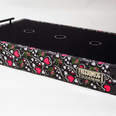Freedom 836 Pedalboards Hearts Pedalboard 2020 Hearts for sale