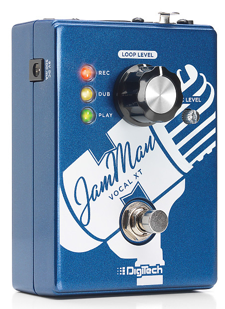 digitech jamman vocal xt vocal looper effects pedal reverb. Black Bedroom Furniture Sets. Home Design Ideas