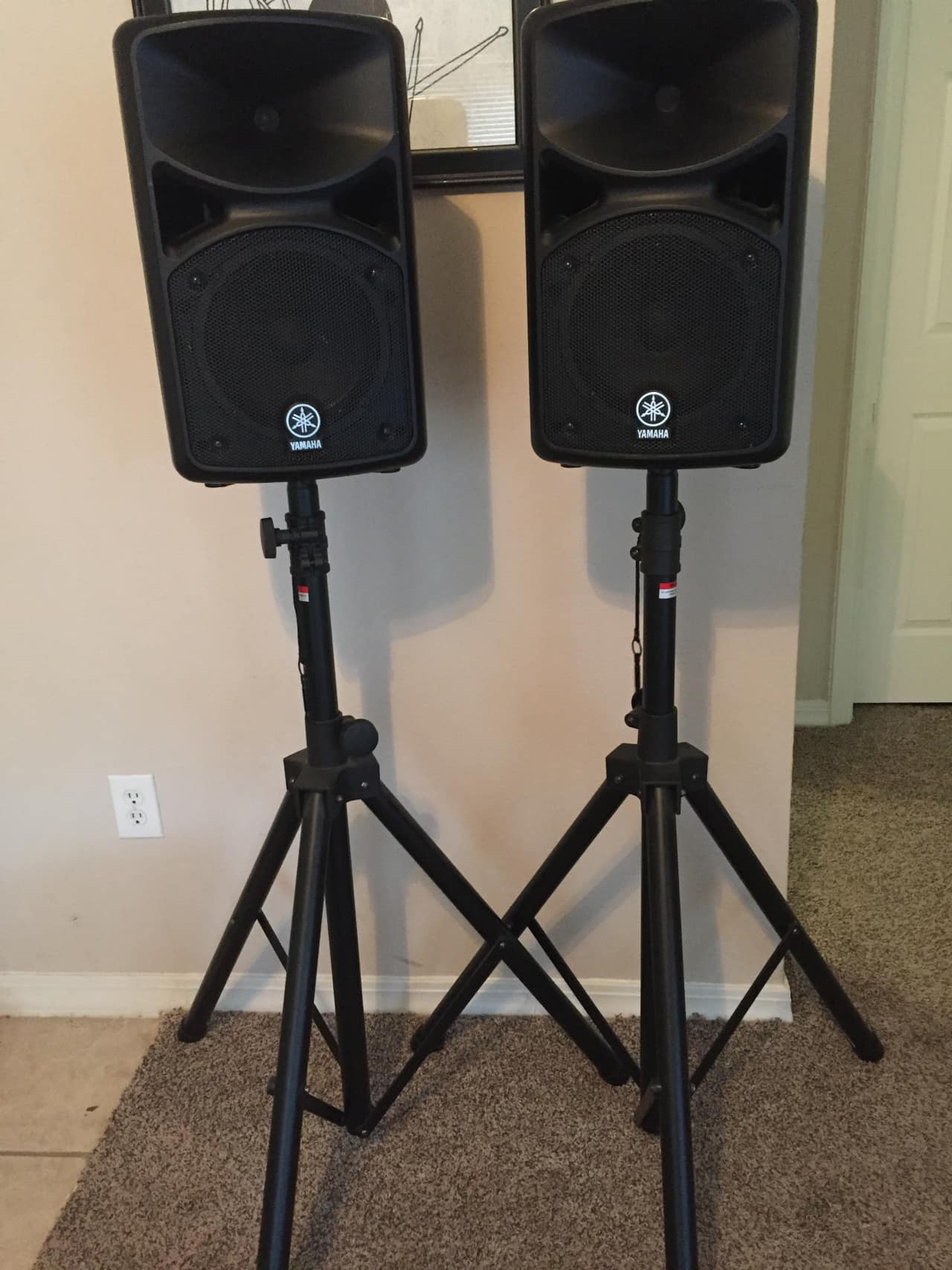 Yamaha stagepas 400i portable pa system reverb for Yamaha stagepas 400i price