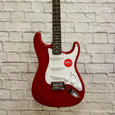 Fender Squier Bullet Stratocaster - Dakota Red for sale