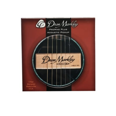 Dean Markley ProMag Grand Acoustic Pickup Single Coil for sale