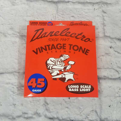 Danelectro Vintage Tone Longscale Light Bass Srings