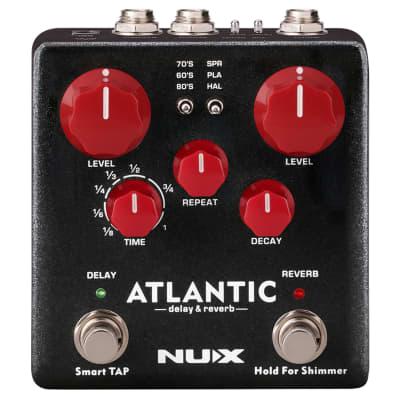 NUX NDR-5 Atlantic Delay & Reverb Guitar Pedal