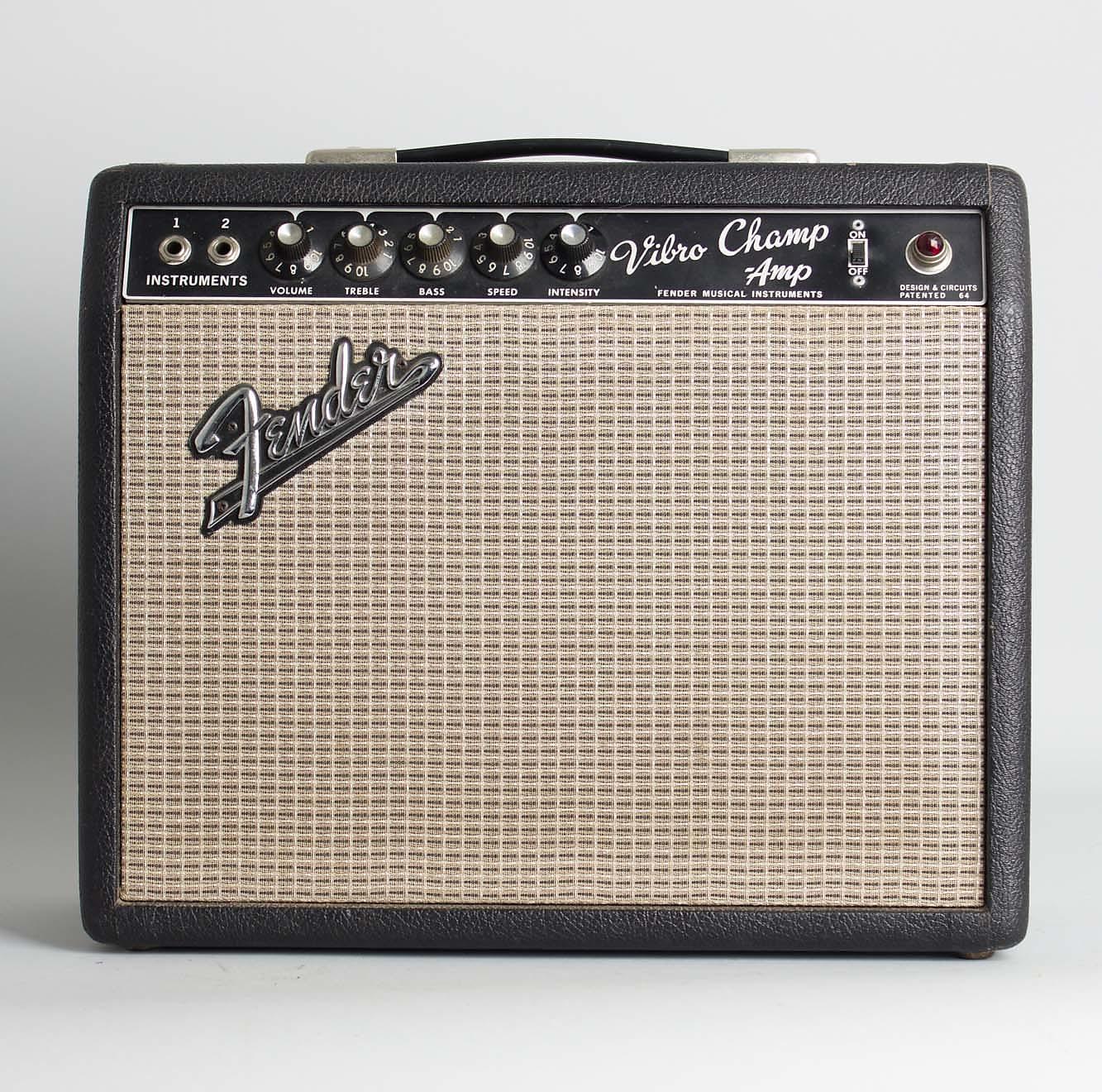 Fender  Vibro-Champ AA764 Tube Amplifier (1967), ser. #A-17691.