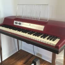 Wurlitzer 200 Electric Piano 1960s Red image
