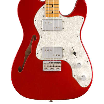 NEW Fender Vintera '70s Telecaster Thinline - Candy Apple Red (799)