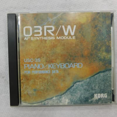 Korg 03R/W PCM and ROM card set USC-3S