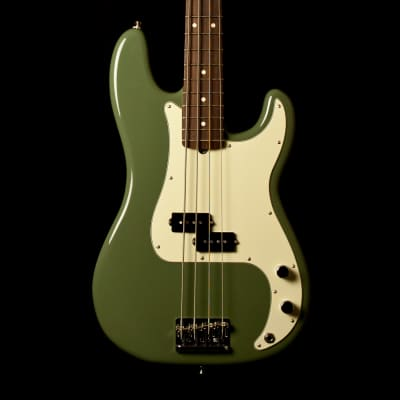 Fender Precision Bass American Professional Antique Olive for sale