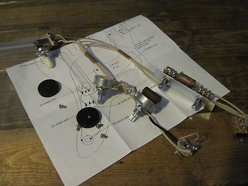 1958 Reproduction Jazzmaster Wiring Harness Made For Fender | Reverb