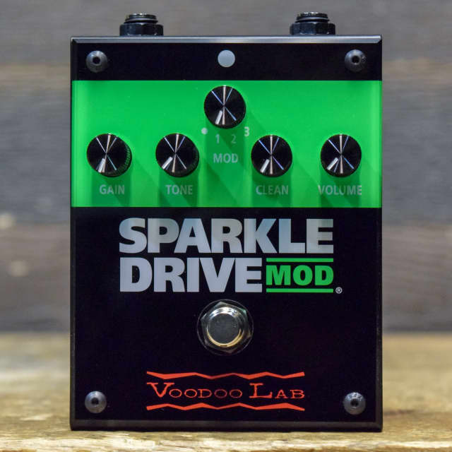 Voodoo Lab Sparkle Drive Mod Overdrive/Distortion with Clean Boost Effect Pedal image