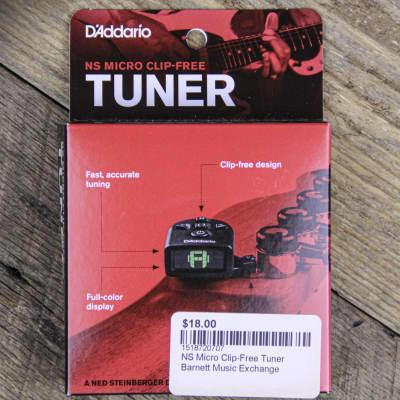 D'Addario PW-CT-21 NS Micro Clip-Free Tuner