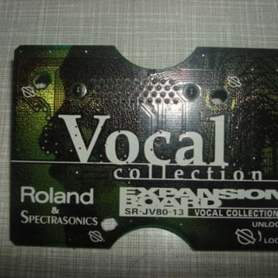 Roland Vocal SR-JV80-13 Vocal Collection SR JV 80 SRJV80 13