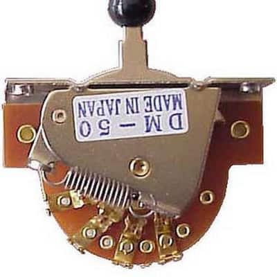 Hosco DM50G+PS06N Selettore Scoperto 5 Posizioni Oro for sale
