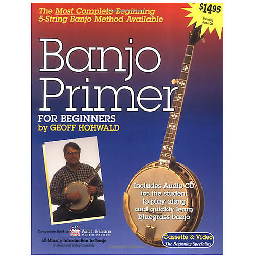 Banjo Primer Instructional Book And CD
