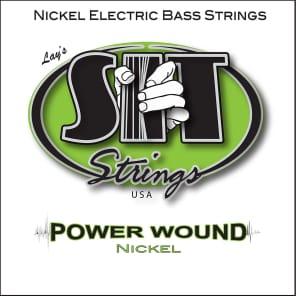 SIT NR45105L Power Wound Nickel Plated Bass Strings - Medium-Light (45-105)
