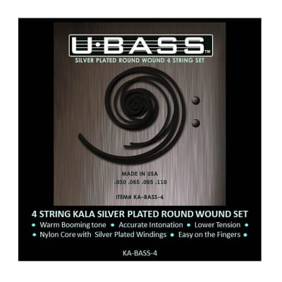 Kala Metal Round Wound Strings for UBass