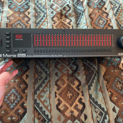 DigiTech MEQ-28 Mono Graphic Equalizer - Completely Refreshed  2000s? Black for sale