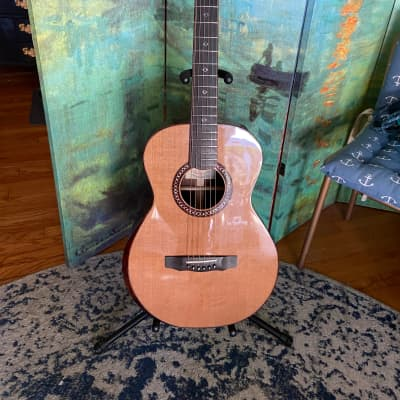 2013 Applegate   FS  Cedar Top , Brazilian Back and sides, with bevel and sound hole. for sale