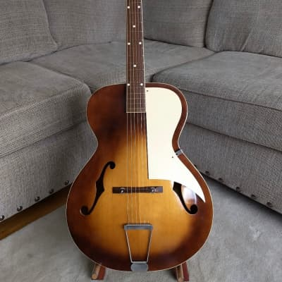 Airline Archtop Vintage 1960's Sunburst w/Original Case for sale