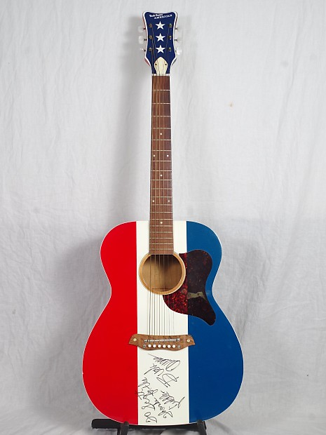 Harmony Buck Owens American Autographed Reverb