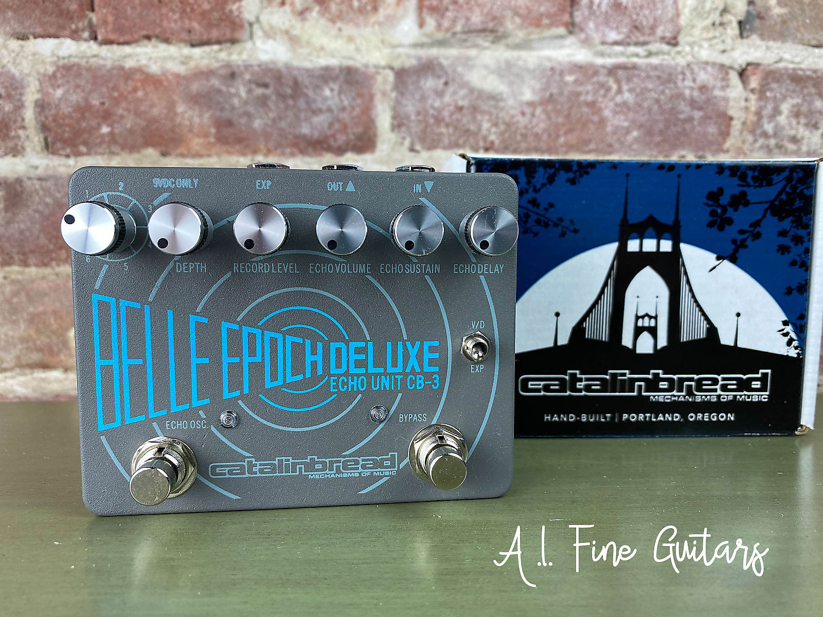 catalinbread belle epoch deluxe cb3 dual tape echo emulation authorized dealer free shipping. Black Bedroom Furniture Sets. Home Design Ideas