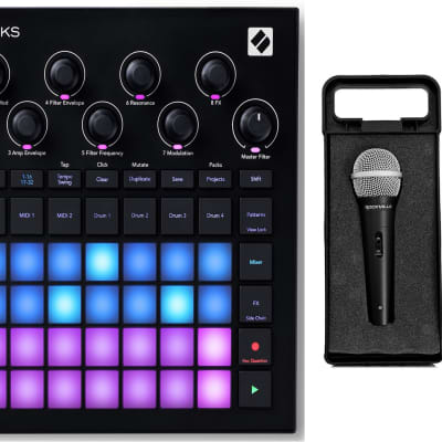 Novation Circuit Tracks MIDI USB Rechargeable Groovebox w/Synths/Sequencer+Mic