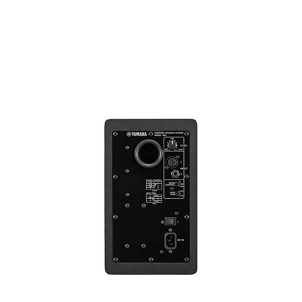 Yamaha hs5 powered studio monitor white reverb for Yamaha hs5 speaker stands