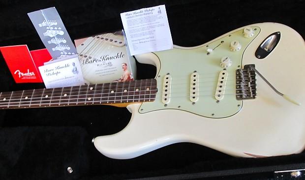 Fender Custom Road Worn Relic Strat 2013 Vintage White