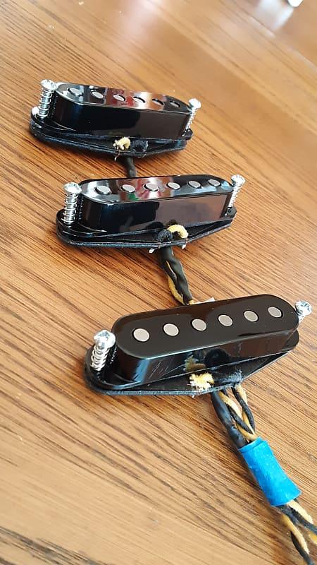 zr guitar pickups 39 woodstock 39 strat replica set 2019 reverb