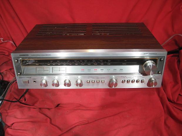 Vintage Onkyo TX-4500 MkII AM/FM Stereo Receiver - Serviced!