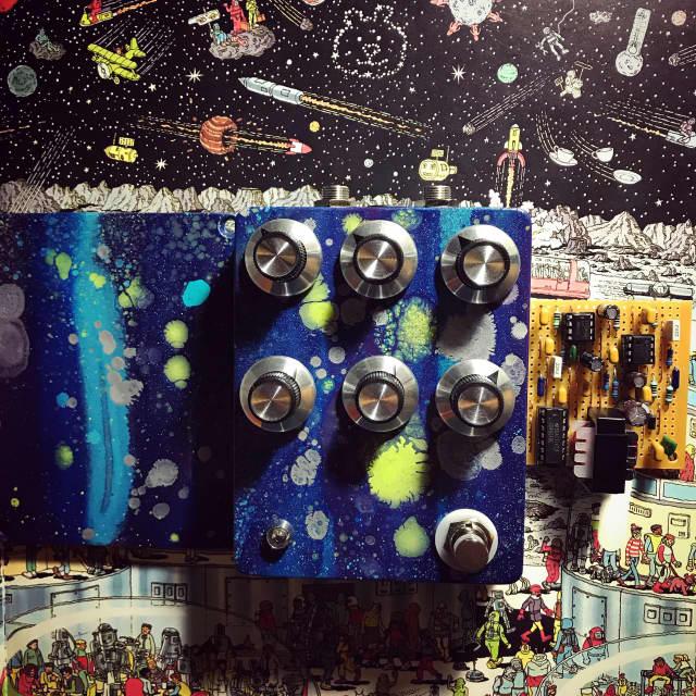 Built by Ryan Handmade poly fuzzy ocatve  2018 Space paint 🎨 fiasco 🚀 image