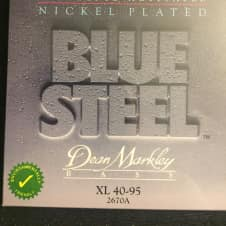 Dean Markley Dean Markley 2670 Blue Steel BASS Guitar Strings 40-95 XL gauge