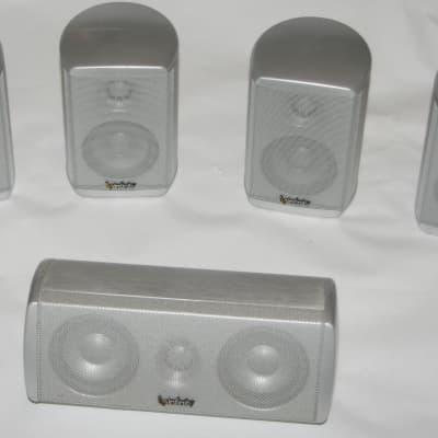 Infinity Total Solutions 750 5 pc Surround Speaker Set 4 x Satellite & 1 Center