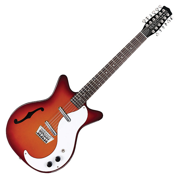 Danelectro 59m 12 String Cherry Sunburst Reverb