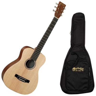 Martin LX1E Acoustic/Electric Natural Guitar with Gig Bag