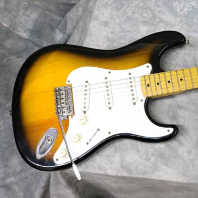 1990s Korean Vester Tradition Series 50s Style Strat  - 2 Tone Sunburst for sale