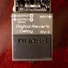 Boss Rv3 Digital Reverb and Delay Pedal